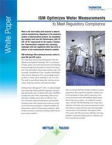ISM Optimizes Water Measurements