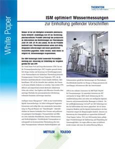 ISM optimiert Wassermessungen