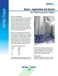 White Paper: Ozone Application and Control