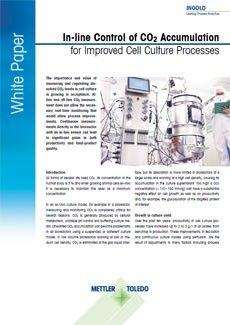 CO₂ measurements in cell culture processes