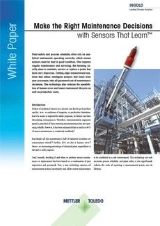White Paper: Sensors That Learn