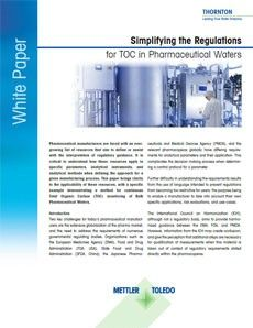 White paper on simplifying regulations
