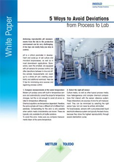 pH measurement in bioprocesses