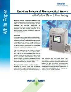 White Paper zur Überwachung mikrobieller Verunreinigungen in Echtzeit