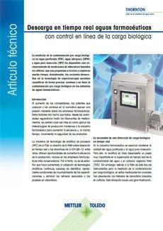 No pase por alto ni un solo microbio con el control de carga biológica en tiempo real