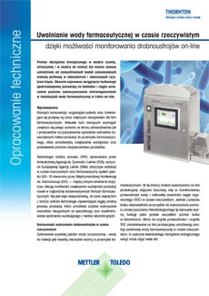 Opracowanie techniczne na temat monitorowania zanieczyszczeń mikrobiologicznych w czasie rzeczywistym