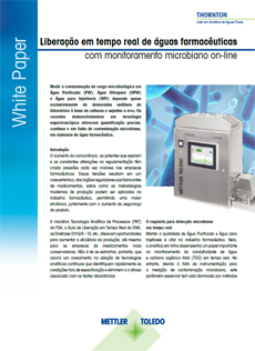 Não perca nenhum erro com o monitoramento microbiano em tempo real