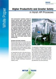 Manufacturing API