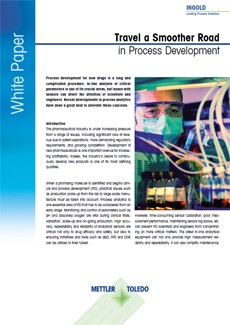 White Paper: Travel a Smoother Road in Pharma Process Development