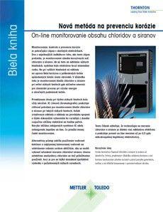 Biela kniha> On-line monitorovanie chloridov a síranov technológiou mikrokvapalnej kapilárnej elektroforézy