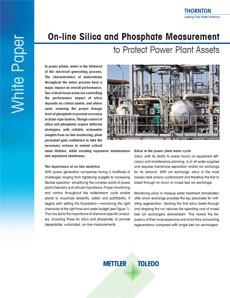 Phosphate Measurement White Paper