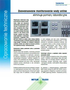Monitorowanie wody online
