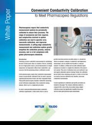 Cân bằng độ dẫn điện thuận tiện để đáp ứng các quy định dược điển