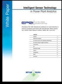 Intelligent Sensor Technology in Power Plant Analytics