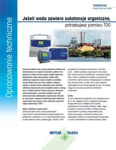 Jeśli w Twoim procesie kogeneracji woda zawiera substancje organiczne, potrzebujesz pomiaru TOC