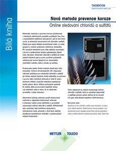 Bílá kniha: Online sledování množství chloridů a sulfátů pomocí mikrofluidní kapilární elektroforézy