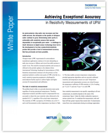 White Paper: Achieving Exceptional Accuracy
