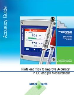 Accuracy guide for pH and DO sensors