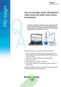 How can Intelligent Sensor Management (ISM) prevent pH sensor failure during fermentation?