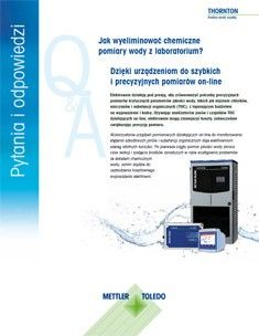 Jak wyeliminować konieczność przeprowadzania w laboratorium pomiarów chemii wody?