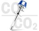 CO₂% & CO% Range Gas Analyzer: GPro 500