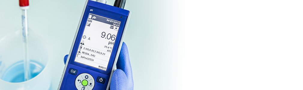 Noggrann och tillförlitlig pH-mätning med realtidsdiagnostik