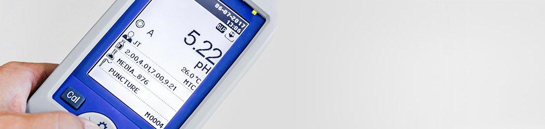 Tragbares pH-Messgerät
