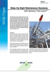 White paper on intelligent sensors