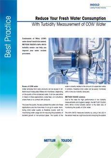 Đo độ đục nước ngưngváng sữa(Condensate of whey, COW)