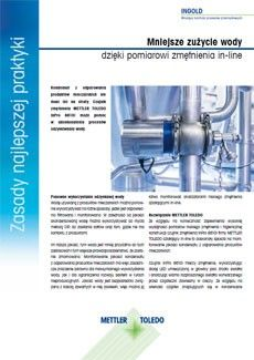 Pomiar zmętnienia kondensatu z odparowania produktów mleczarskich (COW)