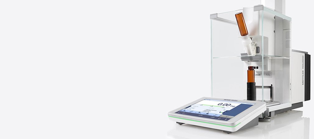 Automated Weighing: Accurate and up to 2 µg Readability