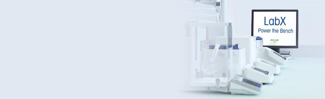 Микровесы XPE, управление рабочим процессом