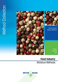 Moisture content in food