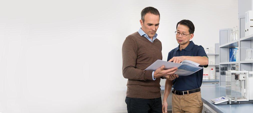 Ekspertservice til laboratorievejeudstyr – skræddersyet til dine behov