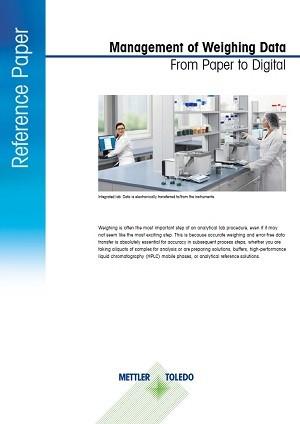 Zarządzanie danymi ważenia — z papieru na ekran