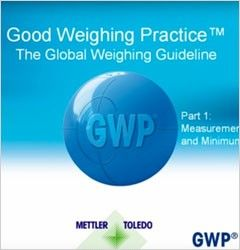 Good Weighing Practice™ - The Global Weighing Guideline - Parte 1: Incertidumbre de medición y peso mínimo