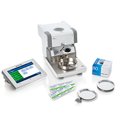 Moisture analyzer accessories
