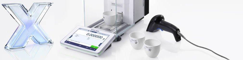 Software per la pesata in laboratorio