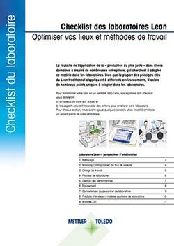 Checklist du laboratoire Lean à télécharger pour optimiser votre lieu de travail