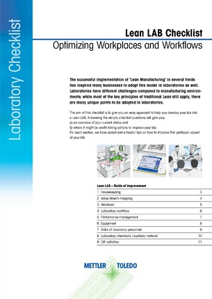 Checklist para Laboratório Lean
