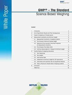 USP Weighing Standard