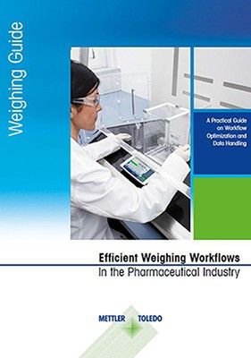 Optimize workflows in the pharma industry - free weighing guide