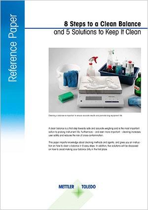 Guide de nettoyage des balances: 8étapes simples pour nettoyer une balance