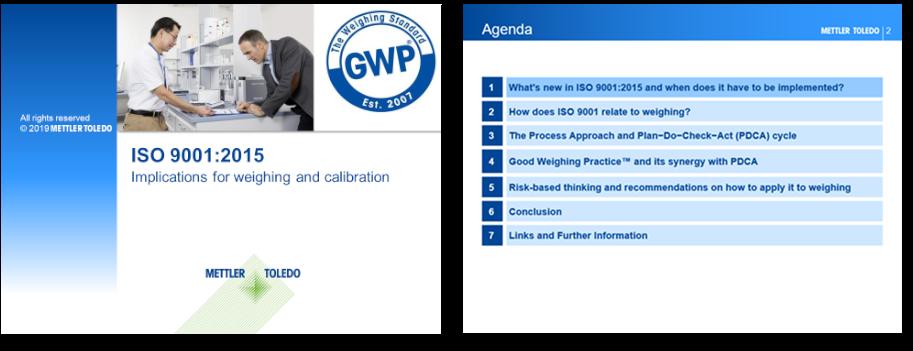 Изменения в ISO 9001:2015, касающиеся взвешивания