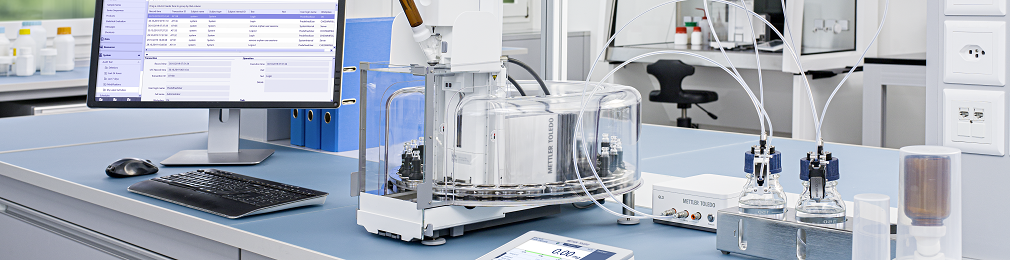 Solutions for Laboratory Weighing Automation
