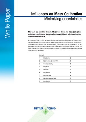 Influences on Mass Calibration ꟷ Minimizing Uncertainties