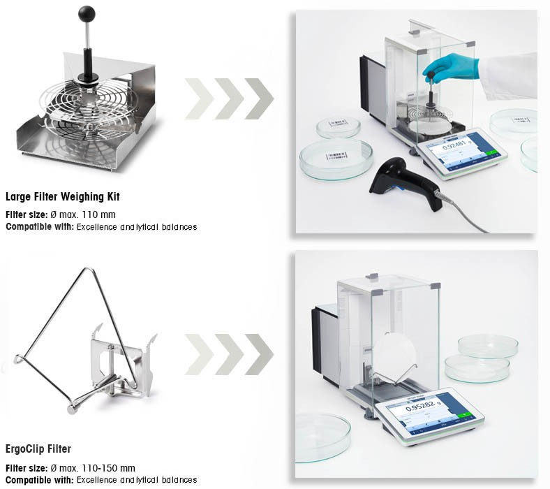 Weighing Large Filters