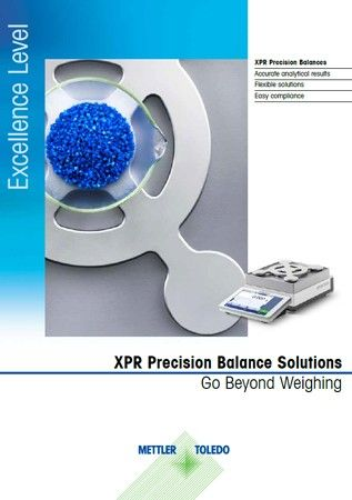 Excellence Level XPR Precision Balances- Go Beyond Weighing