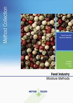 Collection of Moisture Analyzer Methods for Food Industry