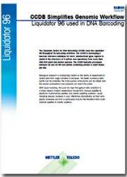 CCDB forenkler genomiske arbejdsgange, DNA Barcoding